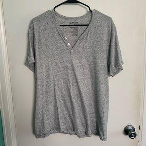 Men's Old Navy Button V-Neck T-Shirt